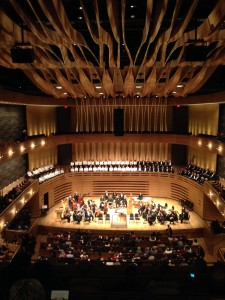 koerner hall photo from balc