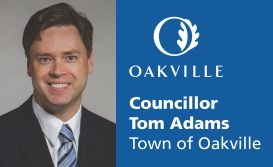 Councillor Tom Adams, Town of Oakville
